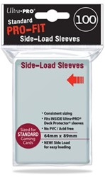 Sleeves Pro-Fit Clear Standard Side Load