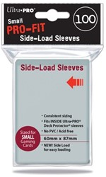 Sleeves Pro-Fit Clear Small Side Load