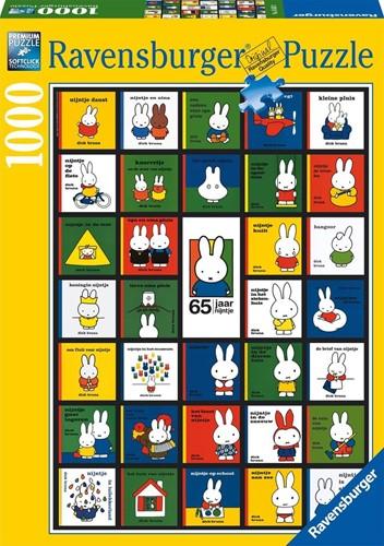 Nijntjes 65e verjaardag Puzzel (1000 stukjes)