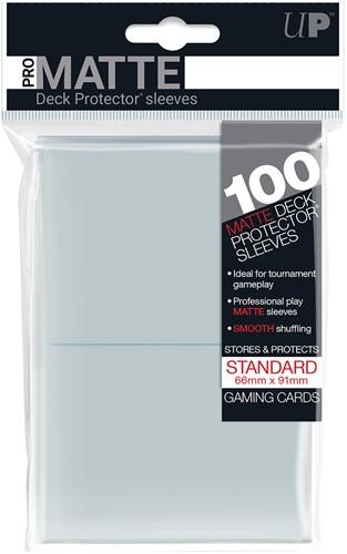 Sleeves Pro-Matte - Standaard Transparant (100 stuks)