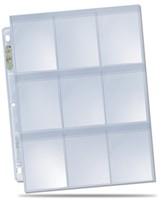 Hologram Pages 9-pocket Secure Platinum (10 stuks)-2