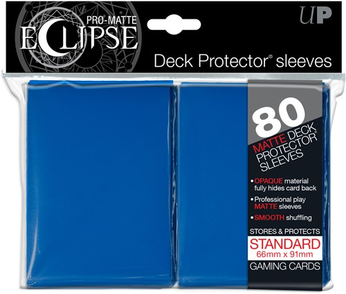 Sleeves Eclipse Pro-Matte - Blauw (66x91 mm)