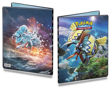 Pokemon Sun & Moon Guardians Rising - 9-pocket verzamelmap