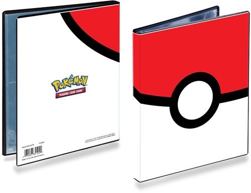 Pokemon 4-Pocket Portfolio - Pokeball