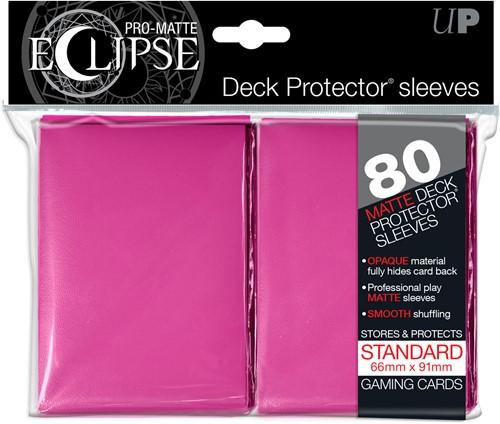 Sleeves Eclipse Pro-Matte - Roze (66x91 mm)