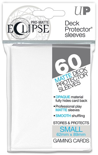 Sleeves Eclipse Pro-Matte - Small Wit (62x89 mm)