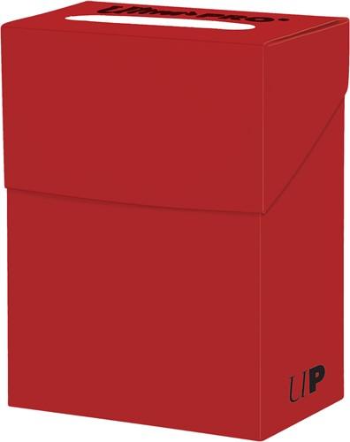 Deckbox Solid - Rood