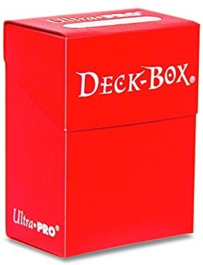 Deckbox Solid Red