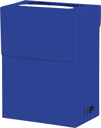 Deckbox Solid - Blauw