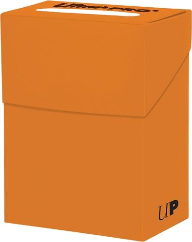 Deckbox Solid - Oranje