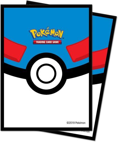 Pokemon Great Ball Sleeves (65 stuks)