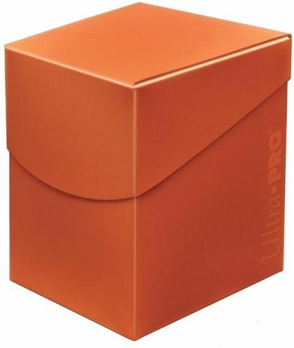 Deckbox Eclipse Pro 100+ Pumpkin Orange