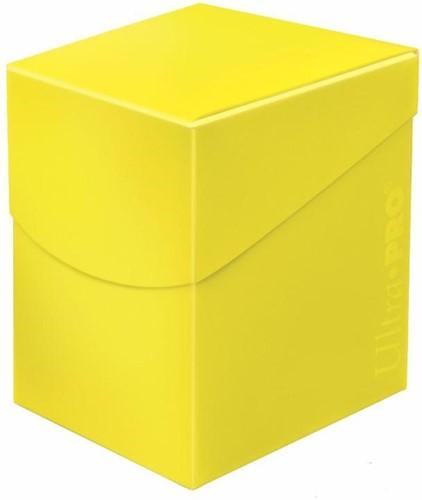 Deckbox Eclipse Pro 100+ Geel