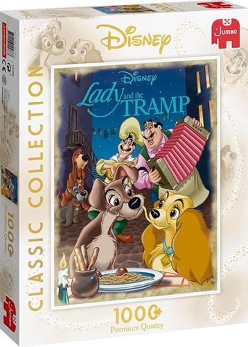 Disney Classic Collection - Lady & The Tramp Puzzel (1000 stukjes)