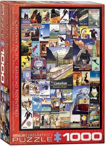 Railroad Adventures Puzzel (1000 stukjes)
