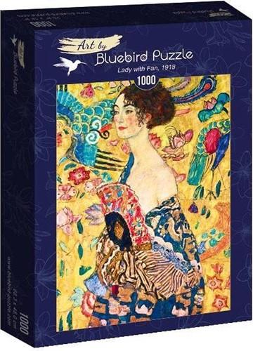 Gustave Klimt - Lady with Fan Puzzel (1000 stukjes)