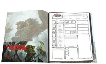 D&D Portfolio Character Folio - Demogorgon