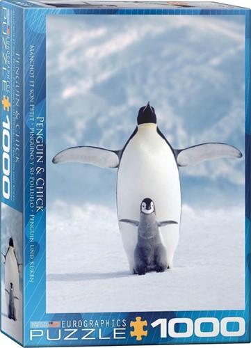 Penguin & Chick Puzzel (1000 stukjes)