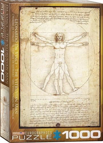 The Vitruvian Man - Da Vinci Puzzel (1000 stukjes)