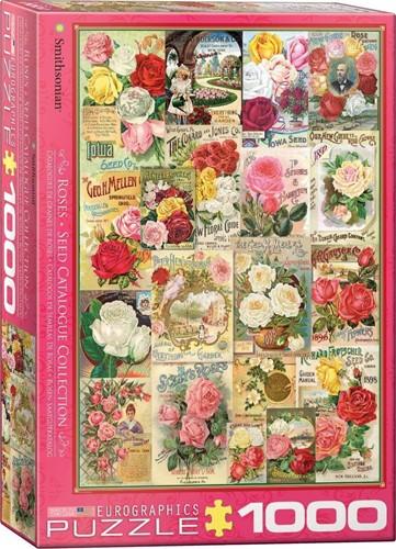 Roses - Seed Catalogue Puzzel (1000 stukjes)