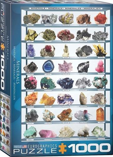 Minerals Puzzel (1000 stukjes)