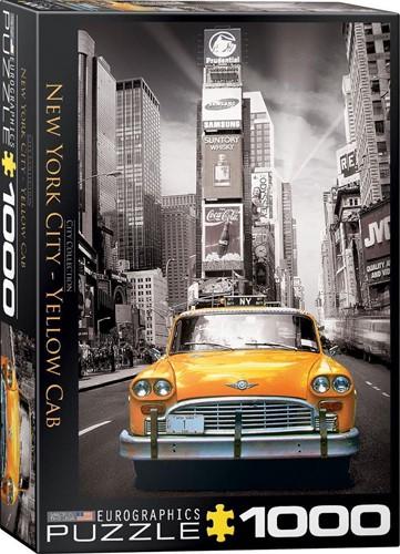 New York City - Yellow Cab Puzzel (1000 stukjes)