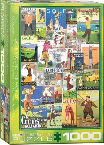 Golf Around the World Puzzel (1000 stukjes)