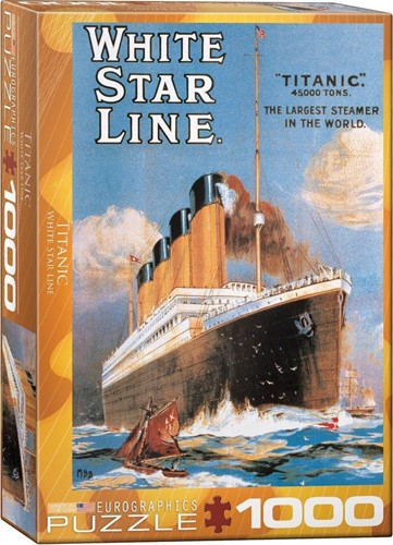 Titanic - White Star Line Puzzel (1000 stukjes)