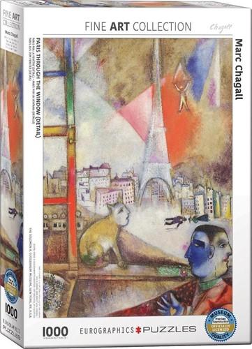 Paris Through the Window Puzzel (1000 stukjes)