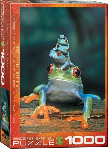Red-Eyed Tree Frog Puzzel (1000 stukjes)