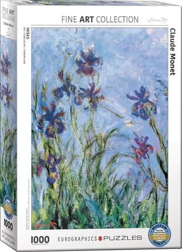Irises (Detail) - Claude Monet Puzzel (1000 stukjes)