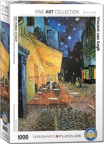Café Terrace at Night - Vincent van Gogh Puzzel (1000 stukjes)