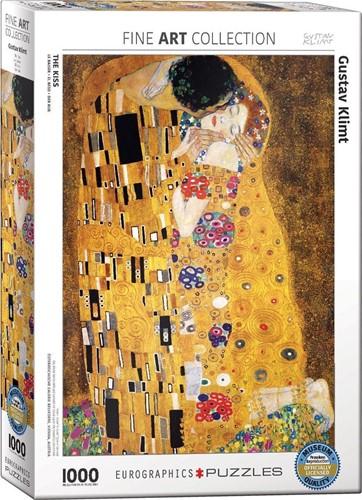 The Kiss - Gustav Klimt Puzzel (1000 stukjes)