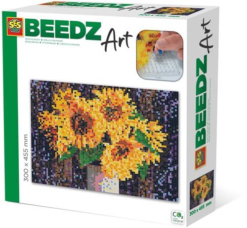 SES - Beedz Art Zonnebloemen