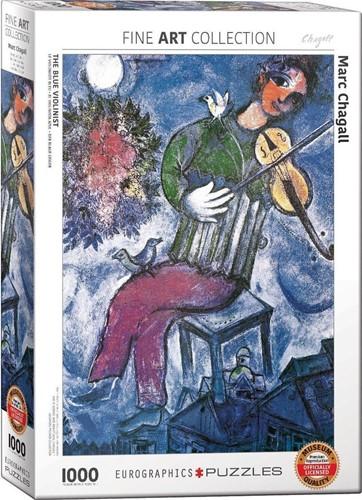 Marc Chagall - The Blue Violinist Puzzel (1000 stukjes)