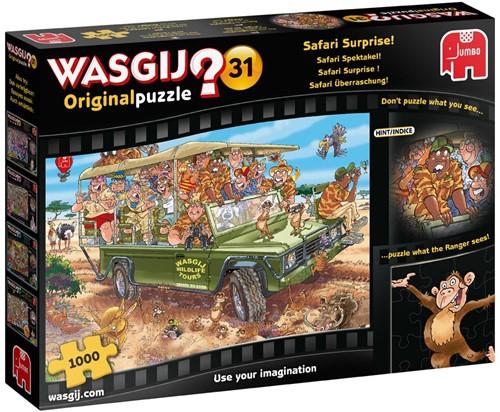 Wasgij Original 31 - Safari Spektakel! Puzzel (1000 stukjes)