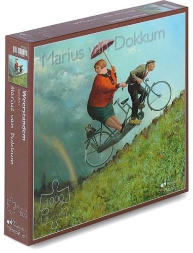 Marius van Dokkum - Weerstandem Puzzel (1000 stukjes)