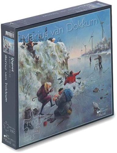 Marius van Dokkum - IJspret Puzzel (1000 stukjes)