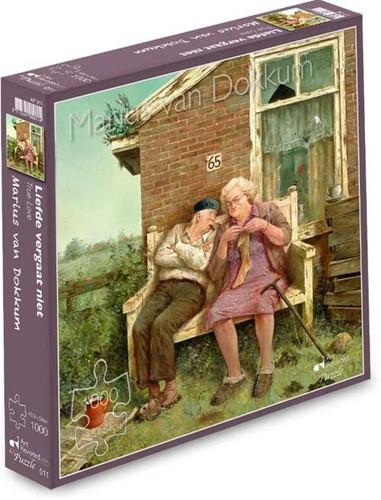 Marius van Dokkum - Liefde Vergaat Niet Puzzel (1000 stukjes)