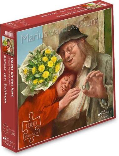 Marius van Dokkum - Recht uit het Hart Puzzel (1000 stukjes)