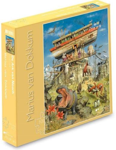 Marius van Dokkum - De Ark van Noach Puzzel (100 stukjes)