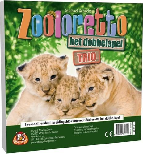 Zooloretto - Het Dobbelspel Trio (Variatiebloks)