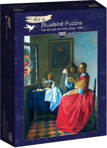 Vermeer - The Girl with the Wine Glass Puzzel (1000 stukjes)