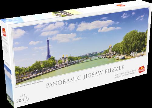 Pont Alexandre III Paris Puzzel (504 stukjes)