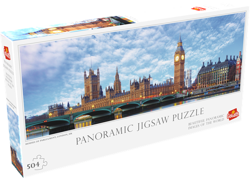 Houses Of Parliament London Puzzel (504 stukjes)