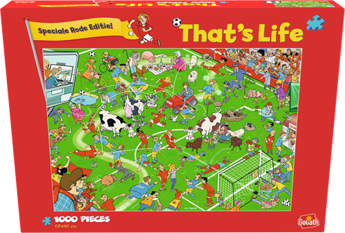 That's Life - Rode Duivels Puzzel (1000 stukjes)