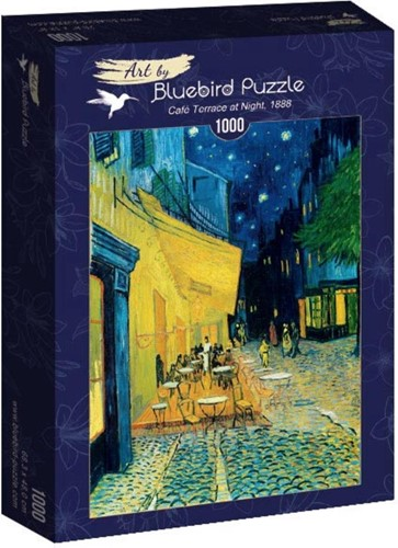 Vincent van Gogh - Café Terras in de Nacht, 1988 (1000 stukjes)