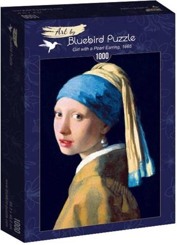 Vermeer - Het meisje met de Parel Puzzel (1000 stukjes)