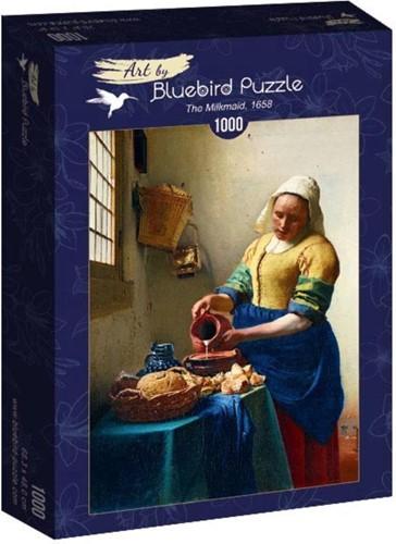 Vermeer- Het Melkmeisje, 1658 Puzzel (1000 stukjes)