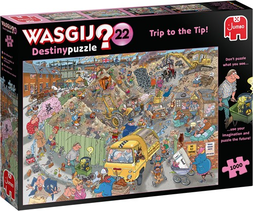 Wasgij Destiny 22 - Alles op een Hoop! Puzzel (1000 stukjes)